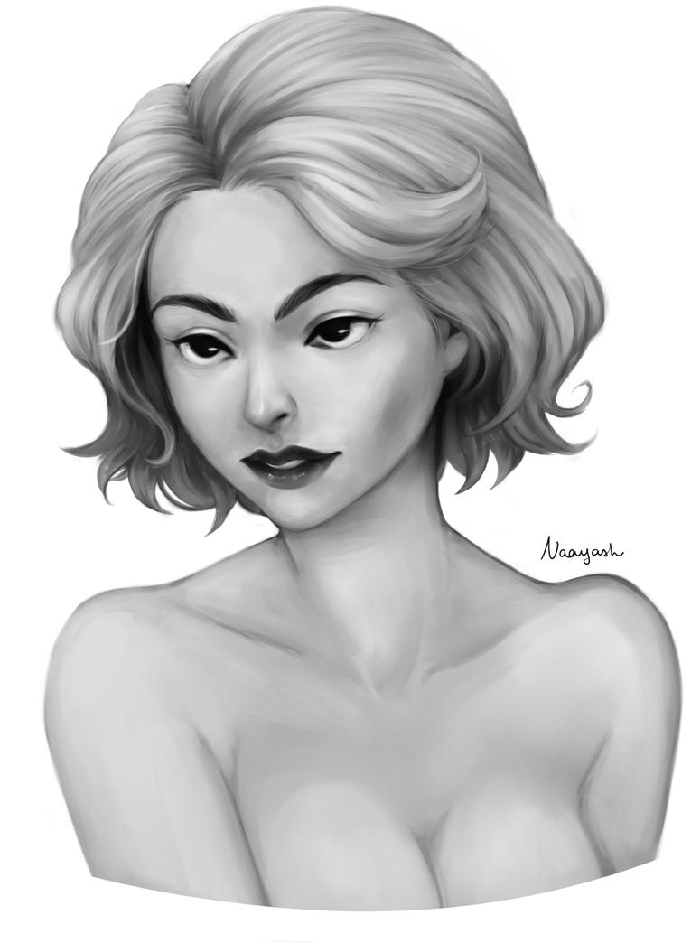Random Portrait - Alice by Naay-Atsuara