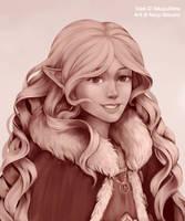 C: In a winter cloak by Naay-Atsuara