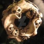 Bone Frill Ornament