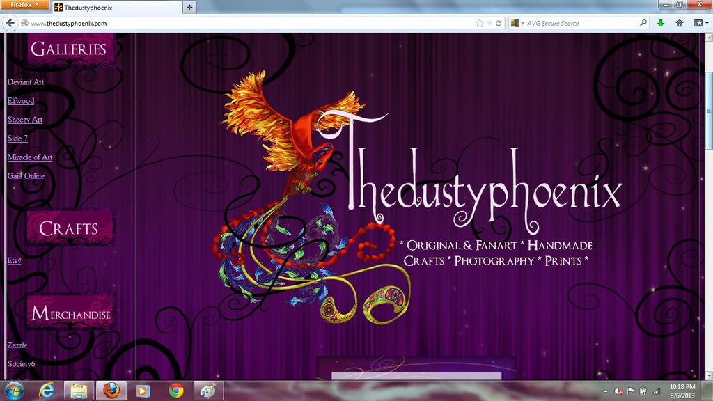 Thedustyphoenix dot com