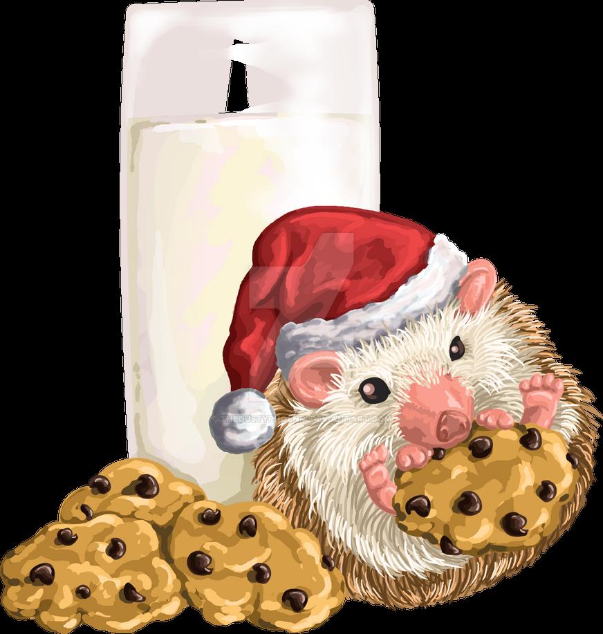 Christmas Cookie Hog by thedustyphoenix