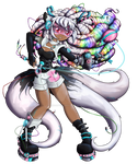 Cyber Kitsune Girl