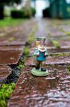 Wet Bricks Gnome