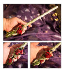 Victorian Roses Wand