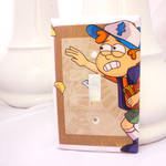 Dipper Light Switch Cover