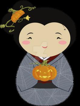 Kokeshi Halloween