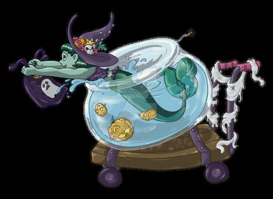 Trick Or Treat Mermaid