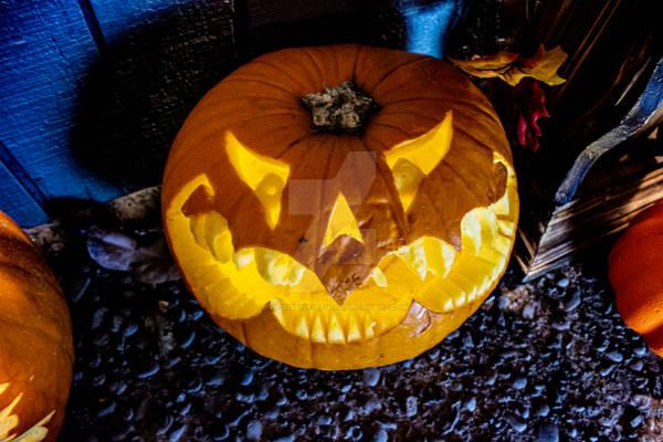 Evil Thoughts Pumpkin