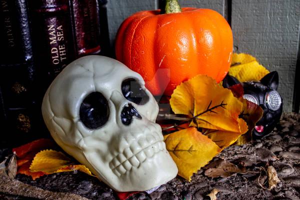 Orange and Skull