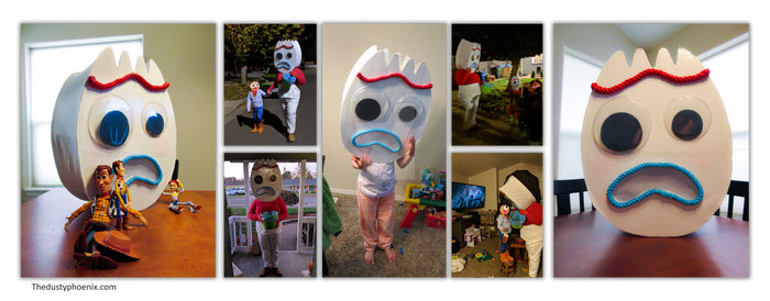 Forky Costume 2019