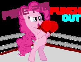 Pinkie Pie PunchOut by ViktorsBigPants