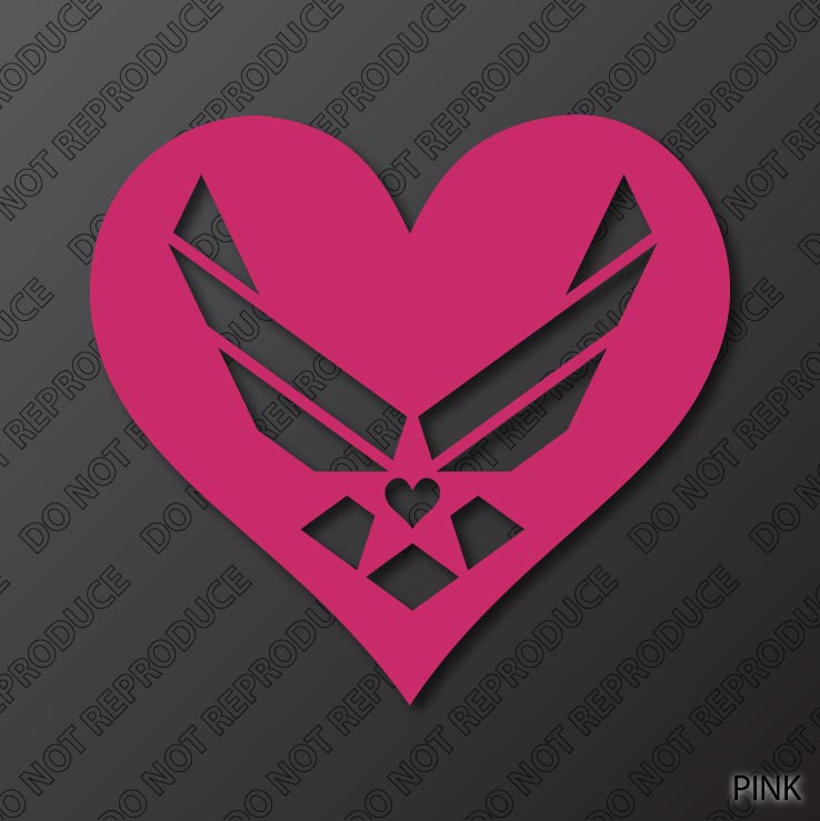 Air Force Symbol Heart Of The Mission By S4sarahssigns On Deviantart