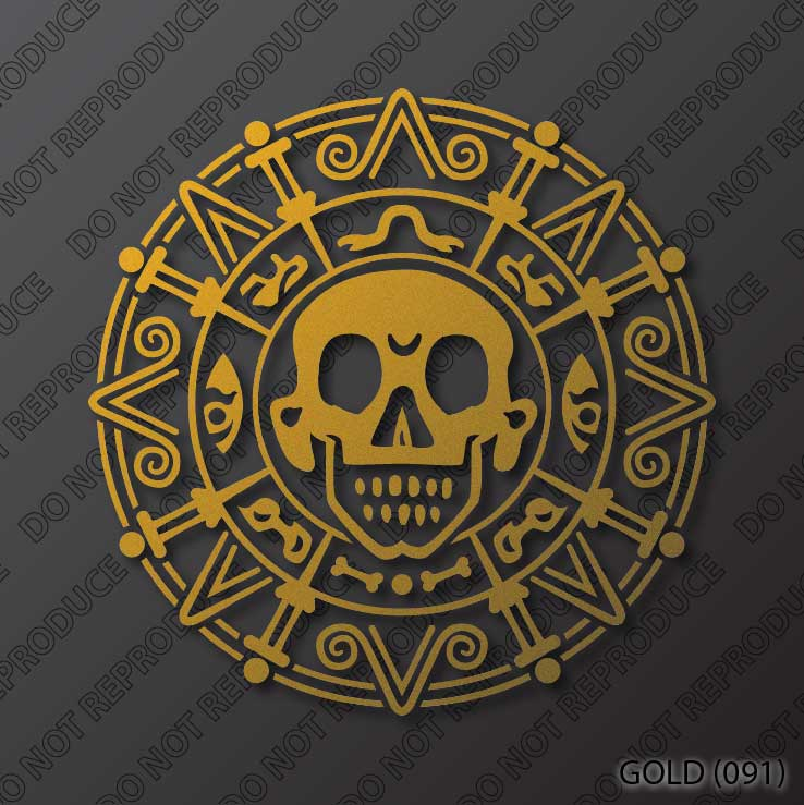Pirates Of The Caribbean: Cursed Aztec Gold Coin By