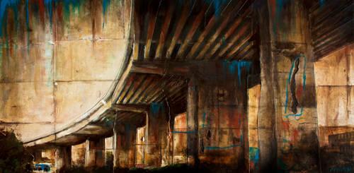 Concrete Rainbow by minyaka