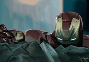 Iron Man by charlypodo