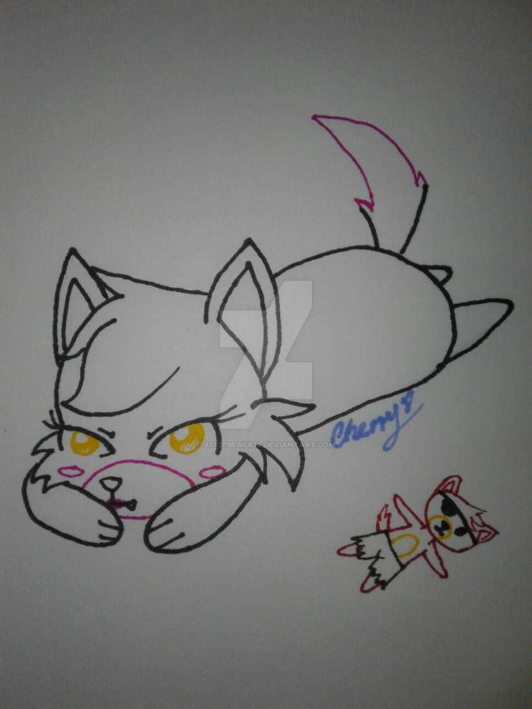 chibi mangle  by AliceBlack19