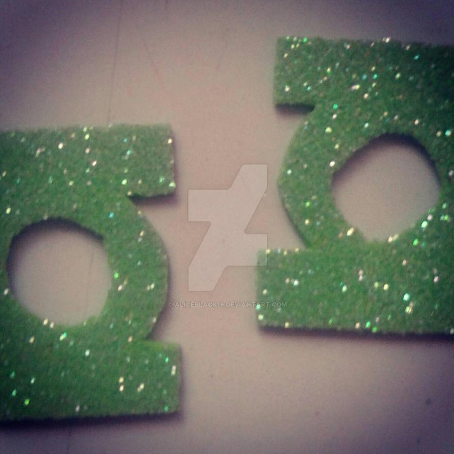 logos de linterna verde  by AliceBlack19
