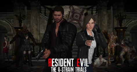 Resident Evil: The Q-Strain Trials Revised Poster