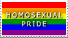 STAMP: Homosexual Pride by FlameExorcist