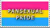 STAMP: Pansexual Pride by FlameExorcist
