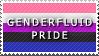 STAMP: Genderfluid Pride by FlameExorcist
