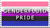 STAMP: Genderfluid Pride by FlameExorcist