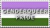 STAMP: Genderqueer Pride by FlameExorcist