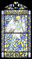 TSFH Stain Glass 4-- Michael by MPsai