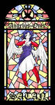 TSFH Stained Glass 5 - Satan
