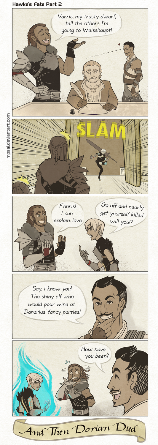 Dragon Age - Hawke's Fate Part 2 by MPsai