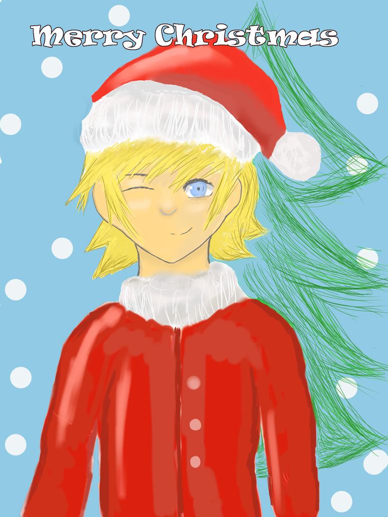 Christmas Roxas by Masanohashi