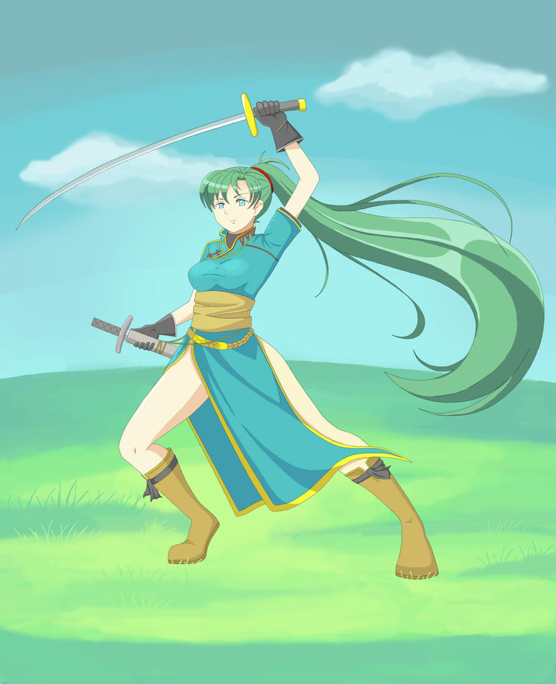 Lyndis of Sacae by Masanohashi
