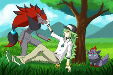 N's Pokemon by Masanohashi