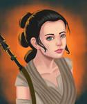 Star Wars: TFA Rey