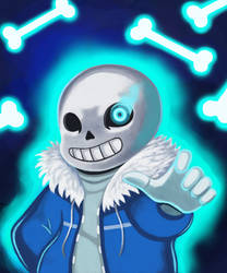 Get dunked on! [Genocide Sans]