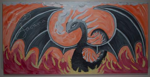 Fire Dragon by RioSavana
