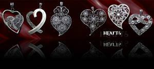 Tradicional goldsmithery Heart