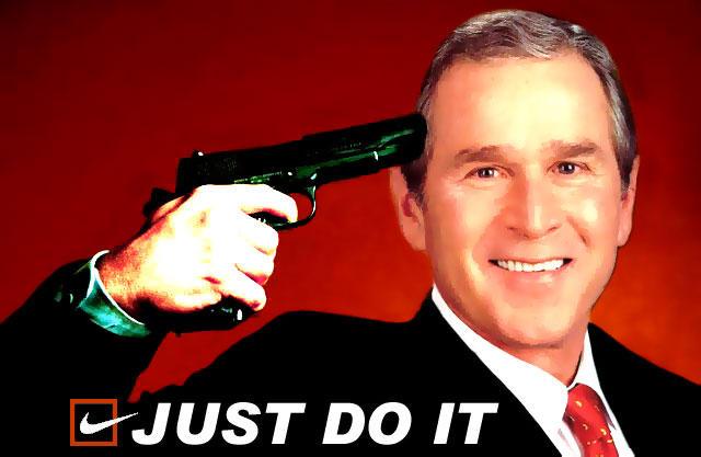 Shame on you Mr Bush