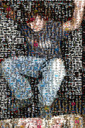 Mosaic skate by kasovitz