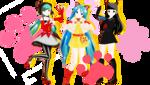 Project Diva F2nd LAT Neko Mikus!