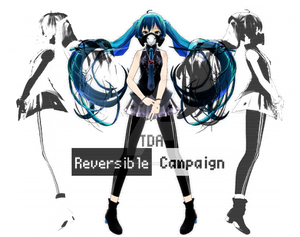 TDA Reversible Campaign Miku [150 watchers gift]