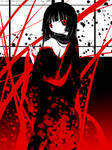Enma Ai-black, white, red