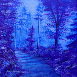 Forest Path by CindysFineArtStudio