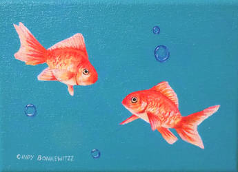 Goldfish by CindysFineArtStudio