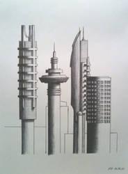 Biro cityscape by tomholliday
