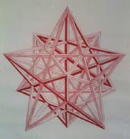 Stellated dodecahedron 4 by tomholliday