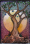 ACEO ATC the tree of wisdom
