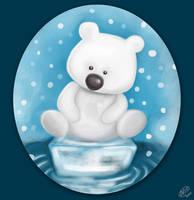 Little Polar Bear by DawnyDawn