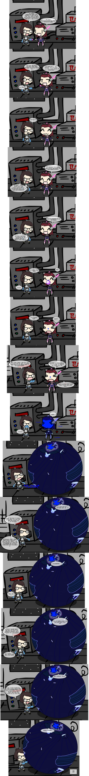 Overwatch: B.va by BittyHeart