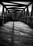 Bridge in BW by WynterOne